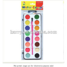 WATER COLOR DAMP DRY 16 COLORS NON-TOXIC FOR SALE