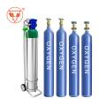Баллон кислородного газа с регуляторами расходомера