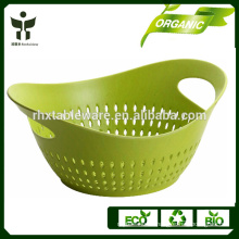 organic drying basket natural bamboo durable basket
