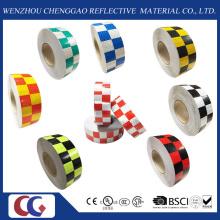 """2"""". X 150′ft. Multi couleur grille Design réfléchissant perceptibilité Tape (C3500-G)"""