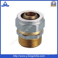 Surface with Two Color Bsp Thread Pipe Fitting (YD-6054)