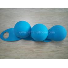 Nueva cubierta de bulbo de goma del silicón del diseño LED