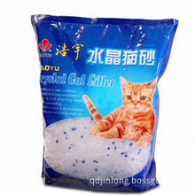 Stand-up Cat Litter Bag, Made of PET/PE Material, Customized Structures are Welcome