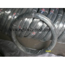 Galvanized Oval Wire 2.4X3.0mm for Farm Fencing