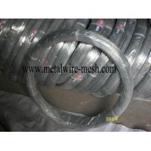 Galvanizado fio oval 2.4X3.0mm para cercas de fazenda