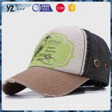 Nueva y caliente diferentes tipos de piedra lavado gorra de béisbol en muchos estilos