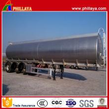 Flüssiger Kraftstofftank Semi Aluminium Trailer