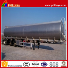 Liquid Fuel Tank Semi Aluminum Trailer