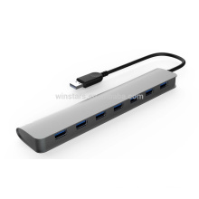 superspeed 5Gbps 7 Port USB3.0 HUB,Support hot swapping, Plug and Play function