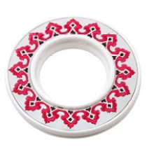Drawing Plastic Curtain Ring for Curtain Rod