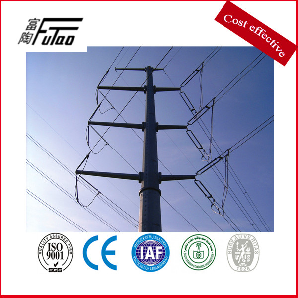 steel electric power pole