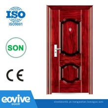 Porta de ferro china portas de aço da segurança de importação