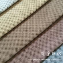 Tissu en velours côtelé ultra doux avec support