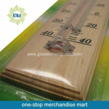 2015 cheapest wooden wall thermometer