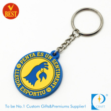 Supply High Quality Customized Logo Rubber Key Ring or Chain for Business Publicity