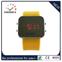 Montre-bracelet de silicone de montre-bracelet de miroir de LED (DC-357)