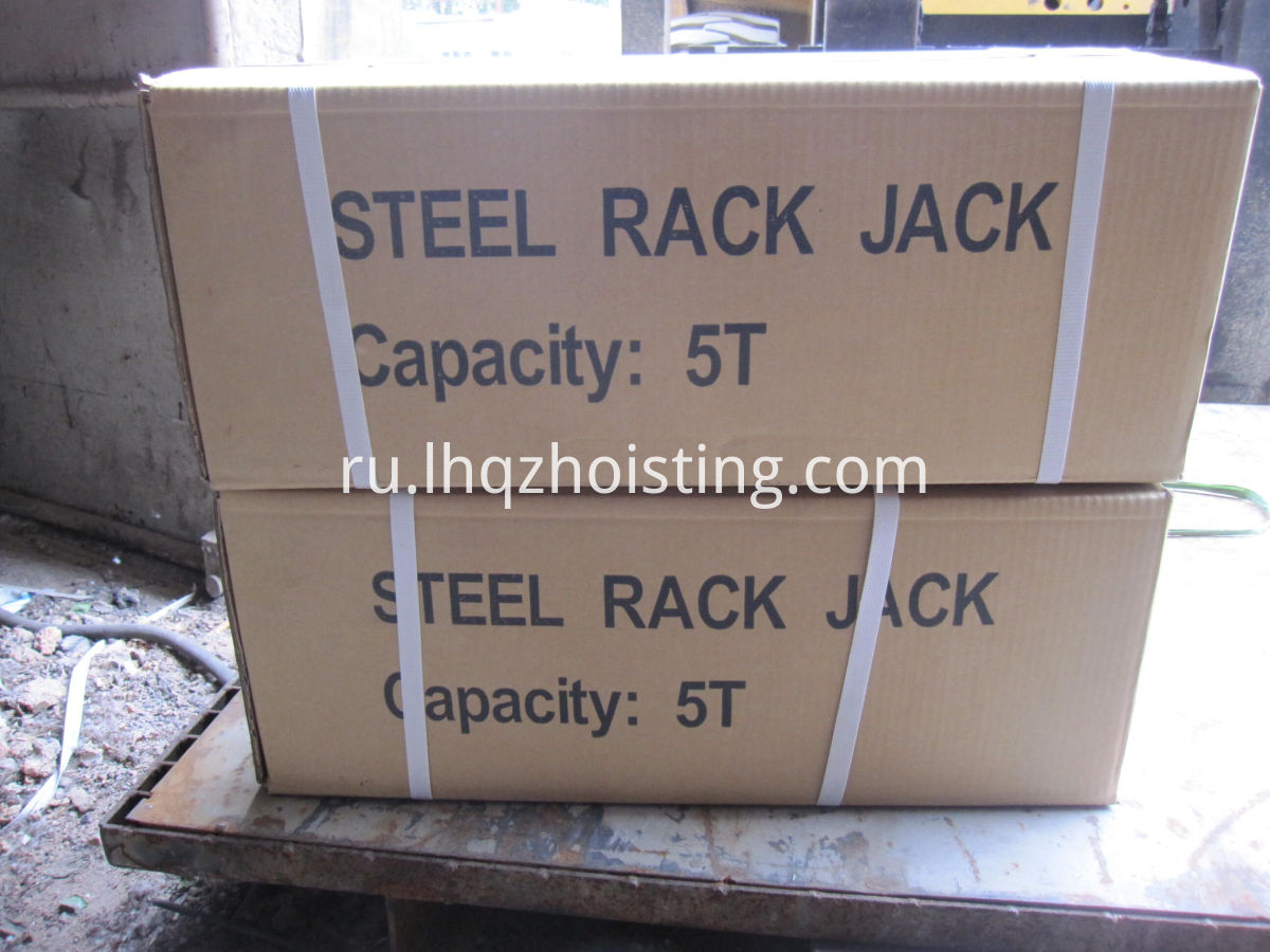 Steel mechanical jack