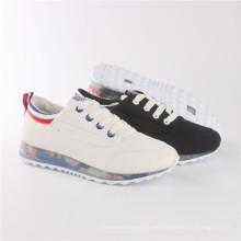 Zapatos de mujer Zapatos de confort de ocio de moda con suela transparente (SNC-64029)