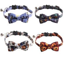 Pet Collar Bow Cat Necklace Adjustable Dog Collar