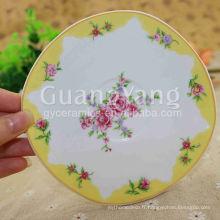 Plateaux en porcelaine défectueux en porcelaine