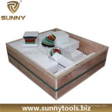 Almohadillas de pulido de mármol Almohadillas de piso de diamante Almohadilla de pulido de resina