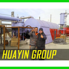 HUAYIN BRAND pyrolysis plant in municipal solid waste