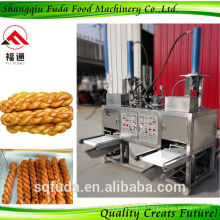 Crispy Snack Food Automatic Twisted Bitsu Making Machine