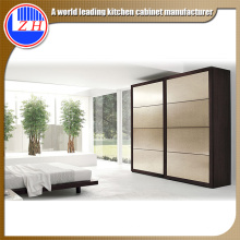 Interior Glss 2 Door Wardrobe for Home Furniture (sliding door)
