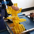 6 aerador da pá, máquina para o oxigênio do produto, equipamento interno da piscicultura