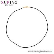 44796 xuping bijoux collier en chaîne élégante de mode design plaqué or 24k simple