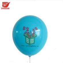 Ballons en latex naturels 100% promotionnels bon marché adaptés aux besoins du client