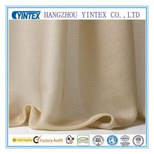 Tissu en polyester de soie en polyester