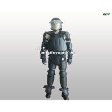 táctico militar de combate del ejército antidisturbios uniforme