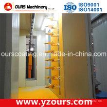 Linha de produção automática de revestimento em pó para produtos de alumínio