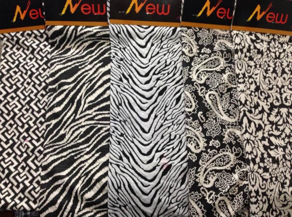100% cotton jacquard knitting fabric