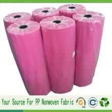 Tissu non-tissé non-tissé Spunbond Polypropylene PP