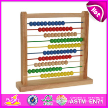 2014 New Study Wooden Abacus Toy for Kids, Popular Educational Wooden Abacus for Children, Hot Sale Wooden Toy for Baby W12A013