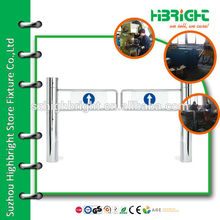automatic passage control swing barrier gate for supermarket