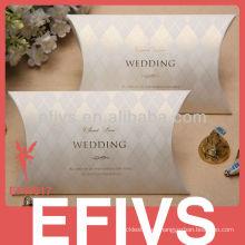 Boda delicada favor de la boda Caja Embalaje del proveedor