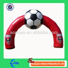 Arco inflável do ar arco inflável dos esportes arquiva o arco inflável para anunciar