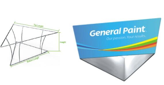 tapered triangle banners