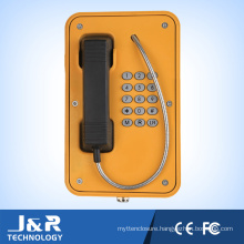Weatherproof Outdoor IP66. IP67 Telephone Jr103-Fk-Y Industrial Telephone Roadside Telephone Tunnel Emergency Phone