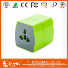 Multifuntion universal 2 pin 220v plug adapter