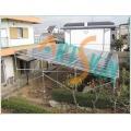 Solar Energy Systems-Solar Farm-im Garten