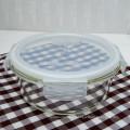 High borosilicate airtight glass bowl set