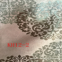 Classical Pattern Custom Design Jacquard Gold Luxury Curtain Fabric