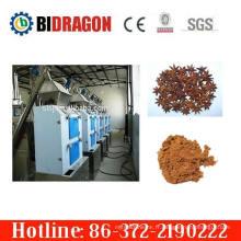 Usine de broyage à poudre à anis à rouleaux complet complète à chaud avec 400 kg / h