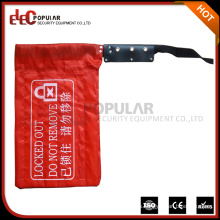 Elecpopular alta calidad Crane controlador bloqueo bolsa con etiquetas de advertencia 230mmx400mm