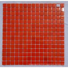 Crystal Glass Mosaic Orange