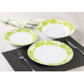 18 delige Decal porselein diner Set